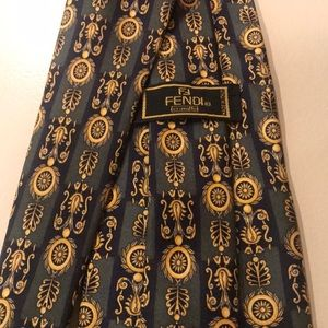 Beautiful Fendi silk tie